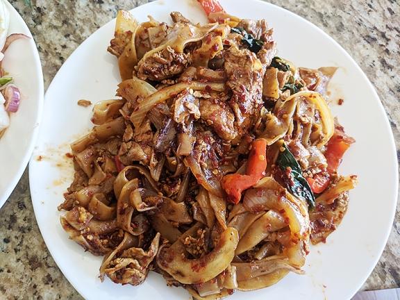 Joy's Thai, Pad Kee Mow
