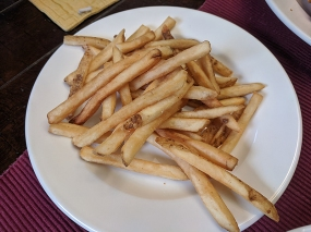 Quarterback Club, Fries