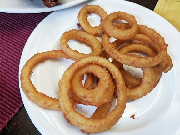 Quarterback Club, Onion Rings