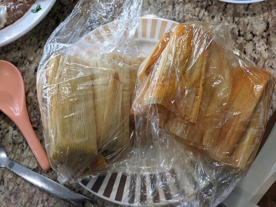 El Triunfo, Tamales