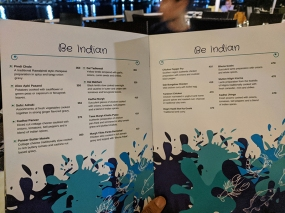 Fisherman's Wharf, Menu, Be Indian