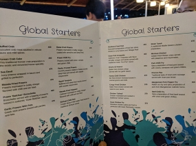 Fisherman's Wharf, Menu, Global Starters