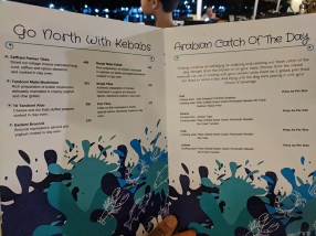 Fisherman's Wharf, Menu, Go North, Arabian Catch