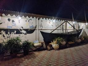 Fisherman's Wharf, Mural, boat