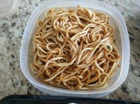 Grand Szechuan, Order 1, Dan Dan Noodles