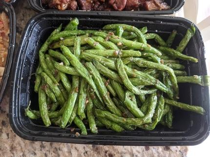 Grand Szechuan, Order 1, Green Beans