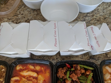 Grand Szechuan, Order 1, Lots of Rice