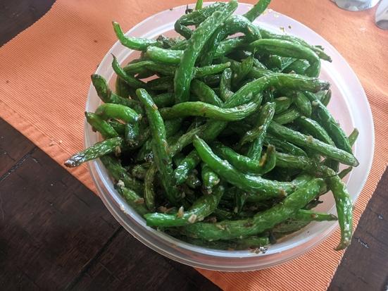 Grand Szechuan, Order 2, Green Beans