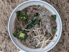 Simplee Pho, Rare Steak Pho