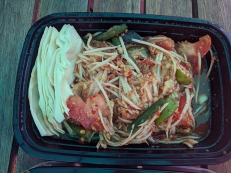 Bangkok Thai Deli, Papaya Salad, Thai-style