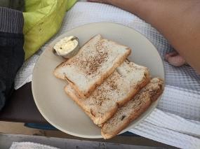 Blue Oasis, Toast