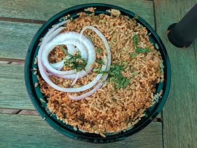 Kumar's, Ambur Chicken Biryani