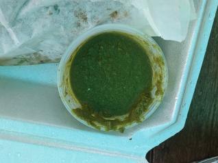 Kumar's, Green chutney