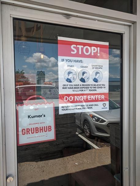 Kumar's, Stop