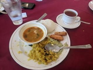 Idli, sambar, poha (eating which felt like a political act in January)