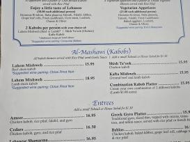 Beirut, Dinner, Kabobs