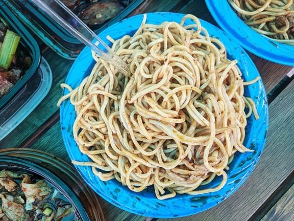 Grand Szechuan, Order 2, Sichuan cold noodle