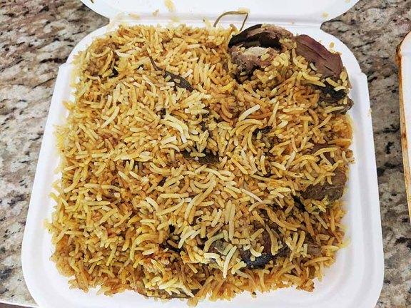 Pandemic Kabob's, Hyderabadi Chicken Biryani
