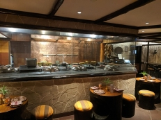 Peshawri, Open Kitchen