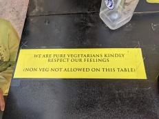 Chaat ki Baat, Non Veg Not Allowed