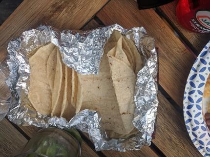 El Triunfo, More tortillas