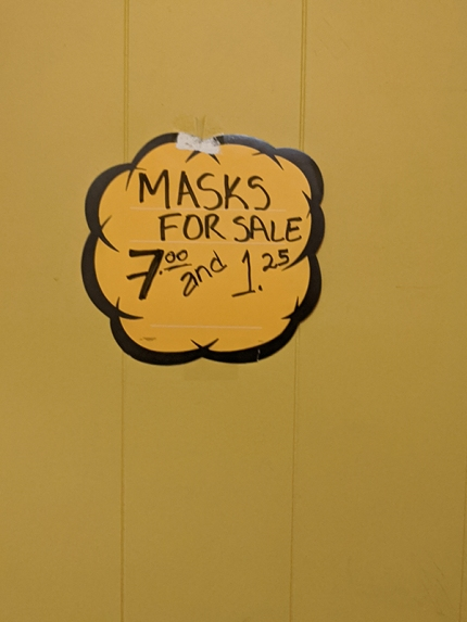 Homi, Masks for Sale