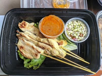 Thai Cafe, Chicken Satay
