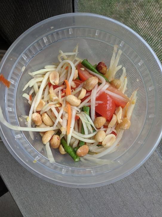 Thai Cafe, Papaya Salad