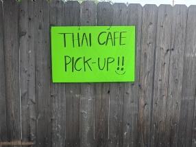 Thai Cafe, Pick Up