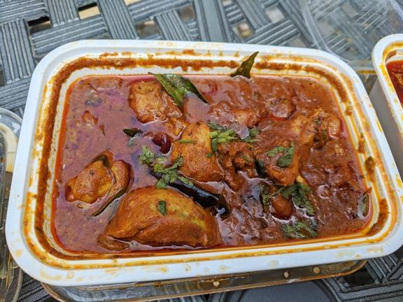 Godavari, Chicken Chettinadu
