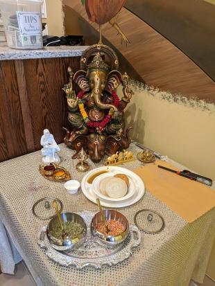 Godavari, Feeding Ganesh