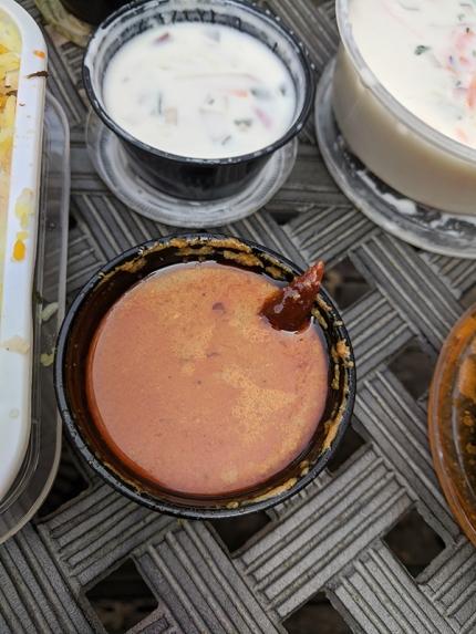 Godavari, More raita, gravy