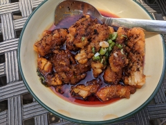 Grand Szechuan Pandemic 4, Squid in a bowl