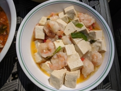 Grand Szechuan Pandemic 4, Tofu with Shrimp and Pickled Pepper