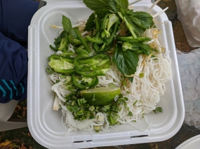 iPho by Saigon, Bun Bo Hue noodles etc