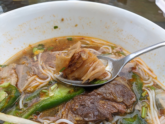 iPho by Saigon, More bun bo hue meat