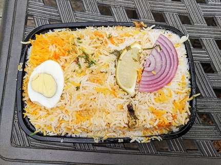 India Spice House, Hyderabadi Chicken Biryani