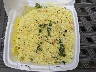 India Spice House, Lemon Rice