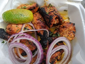India Spice House, Tandoori Chicken