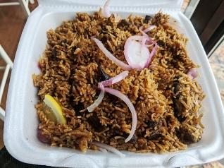 Kabob's, Ambur Spicy Mutton Biryani