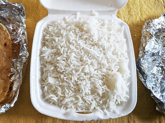 Kabob's, Thali rice