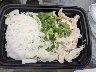 Pho Pasteur, Chicken Pho Fixings