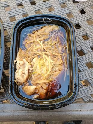 Szechuan Spice, Steamed Flounder