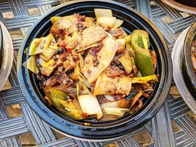 Szechuan Spice, Szechuan Twice-Cooked Pork