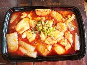 Grand Szechuan, Fish Fillet w. Cold Bean Jelly
