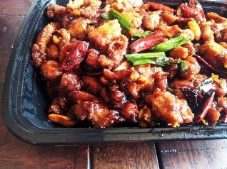 Grand Szechuan, Kung Pao Chicken, closer