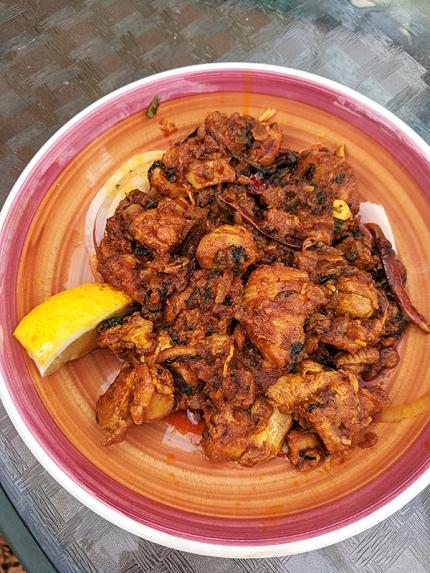 Indian Masala, Chicken Chinthamani