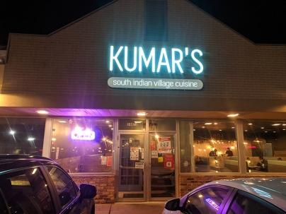 Kumar's, Evening