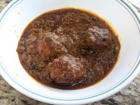 Bawarchi, Egg Chettinad
