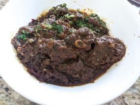 Bawarchi, Goat Pepper Fry